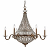 Empire Chandelier In Mocha