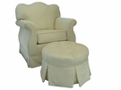 Empire Rocker Glider Chair - Aspen Cream