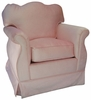 Empire Rocker Glider Chair - Aspen Pink