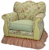 Empire Rocker Glider Chair - English Bouquet