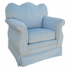 Empire Rocker Glider - Classic Blue Velvet