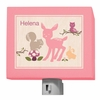 Enchanted Forest Animals Night Light