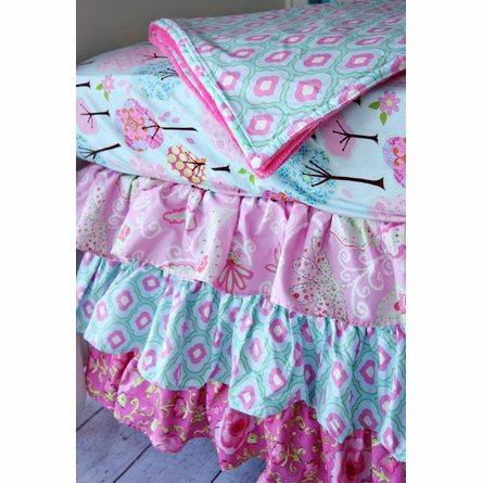 Enchanted Forest Baby Blanket