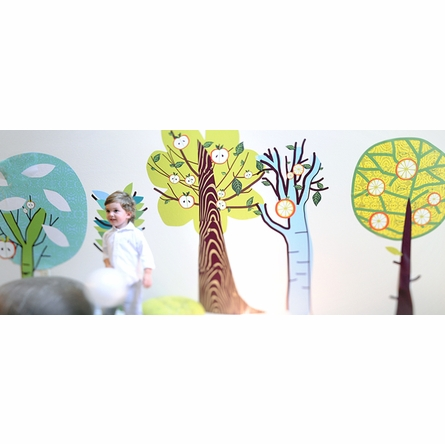 Enchanted Forest Trees Fabric Wall Decals