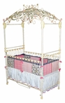 Enchantment Iron Canopy Crib