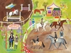 English Horse Show Canvas Wall Mural