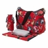 English Rose Red Hobo Diaper Bag