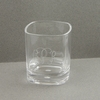 Engraved Short Acrylic Glasses - Set of 4