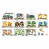 Eric Carle's 1 2 3 Train Canvas Wall Art