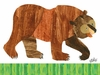 Eric Carle's Brown Bear Canvas Wall Art