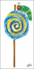 Eric Carle's Caterpillar Lollipop Canvas Wall Art