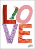 Eric Carle's Caterpillar Love Canvas Wall Art