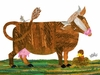 Eric Carle's Cow and Friends Canvas Wall Art