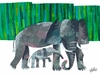 Eric Carle's Elephant Mother Canvas Wall Art