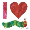 Eric Carle's I Heart Very Hungry Caterpillar Canvas Wall Art