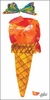 Eric Carle's Ice Cream Cone Canvas Wall Art