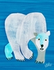 Eric Carle's Polar Bear Canvas Wall Art