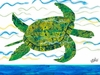 Eric Carle's Sea Turtle Canvas Wall Art