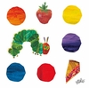 Eric Carle's The Very Hungry Caterpillar and Dots Canvas Wall Art
