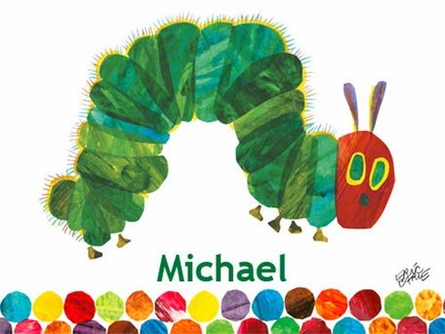 Eric Carle's The Very Hungry Caterpillar? Canvas Wall Art