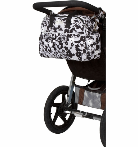 On Sale Erica Carryall Diaper Bag in Evening Bloom