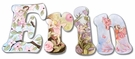 Erin Whimsical Fairies Hand Painted Wall Letters