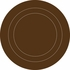 Espresso Brown Baby Concentric Dot Wall Decals
