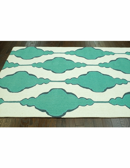 Eva Rug in Jade Green