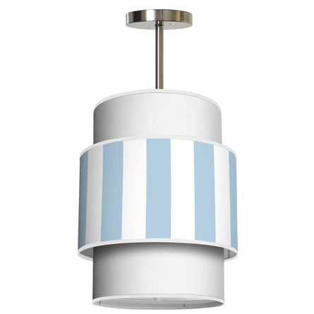 Evan Vertical Stripes Pendant