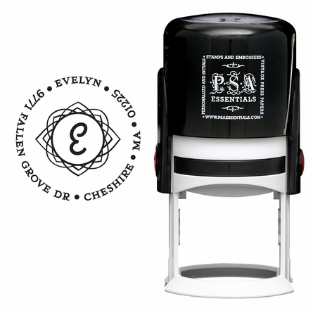 Evelyn Personalized Self-Inking Stamp
