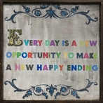 Every Day Is A New Opportunity Vintage Framed Little Art Print