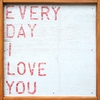 Every Day I Love You Vintage Framed Little Art Print