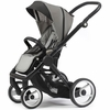 Evo Stroller in Grey with Black Frame