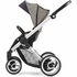 Evo Stroller in Grey with Silver Frame