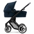 Evo Stroller in Navy with Black Frame
