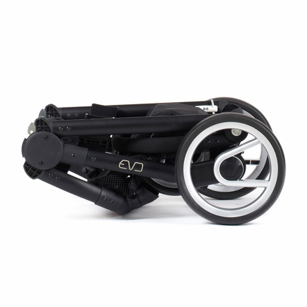 Evo Stroller in Pacific with Black Frame