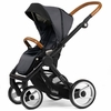 Evo Urban Nomad Stroller in Dark Grey with Black Frame