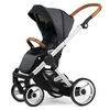 Evo Urban Nomad Stroller in Dark Grey with Silver Frame