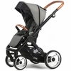 Evo Urban Nomad Stroller in Light Grey with Black Frame