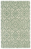 Evolution Mod Floral Rug in Mint