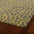 Evolution Mod Floral Rug in Yellow