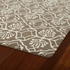Evolution Petite Damask Rug in Light Brown
