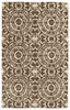 Evolution Suzani Rug in Brown