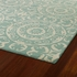 Evolution Suzani Rug in Mint