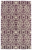 Evolution Suzani Rug in Purple