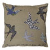 Excuse Me While I Kiss The Sky Throw Pillow