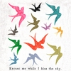 Excuse Me While I Kiss The Sky Small Vintage Canvas Print on Wood