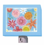Exotic Flowers Night Light