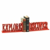 Explore and Discover Letter Bookends
