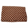 Paisley Splash in Brown Polka Dot Crib Sheet